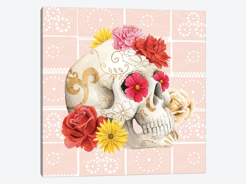 Fiesta de la Vida Muertos I by Grace Popp 1-piece Canvas Print