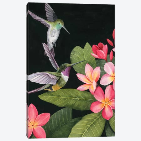 In the Plumeria I 3-Piece Canvas #POP1426} by Grace Popp Canvas Artwork