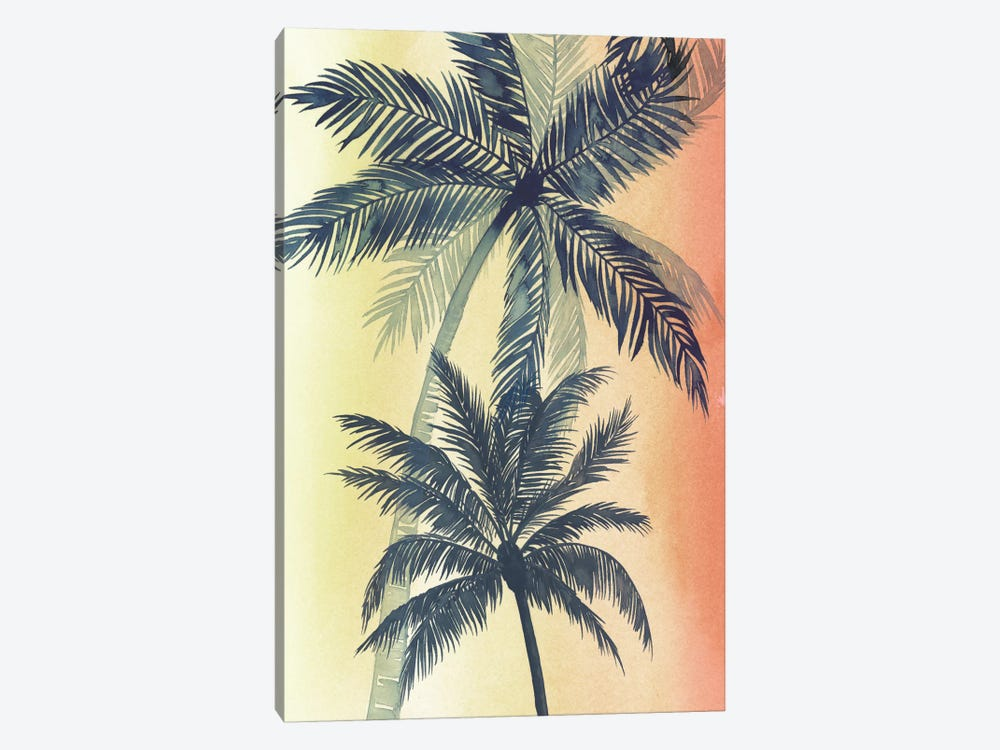 Vintage Palms II by Grace Popp 1-piece Canvas Art Print