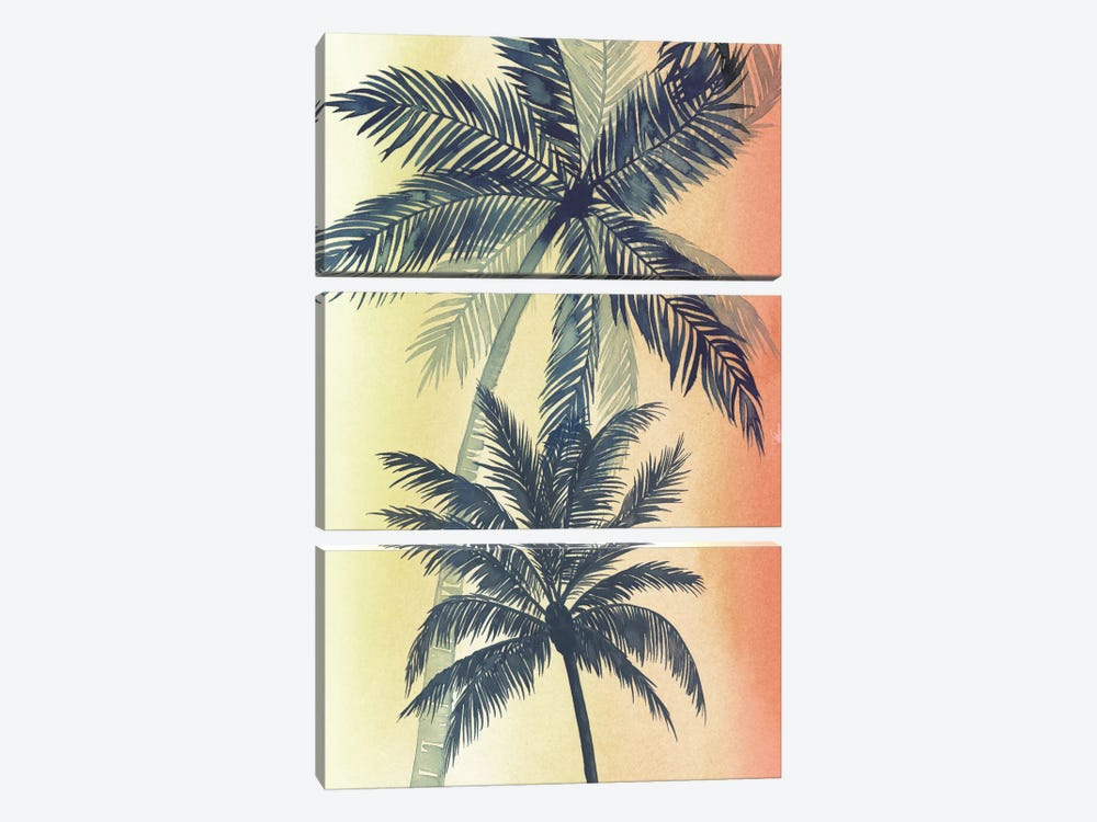 Vintage Palms II by Grace Popp 3-piece Art Print