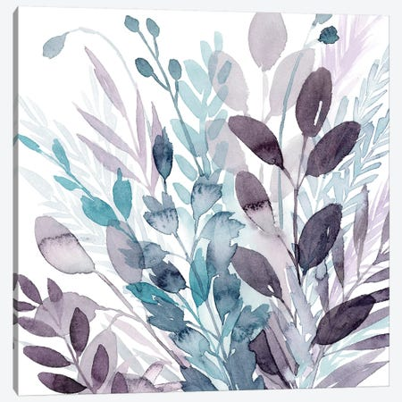 Crystallized Flora II Canvas Print #POP1439} by Grace Popp Canvas Wall Art