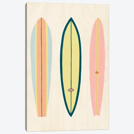 So Cal Surfer I Canvas Print #POP1442} by Grace Popp Art Print