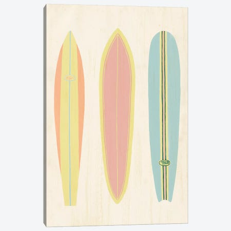 So Cal Surfer II Canvas Print #POP1443} by Grace Popp Canvas Print