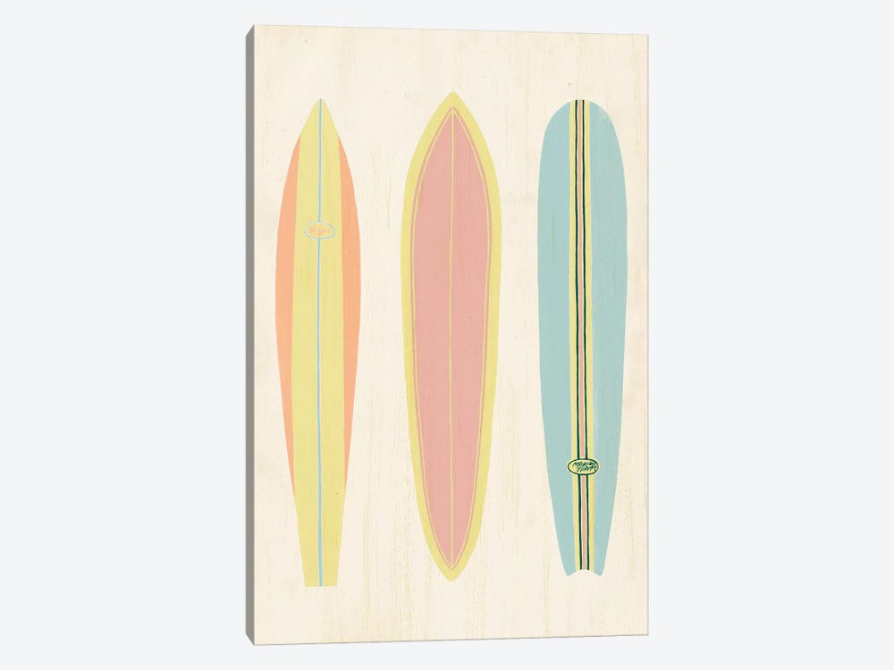 So Cal Surfer II by Grace Popp 1-piece Canvas Print