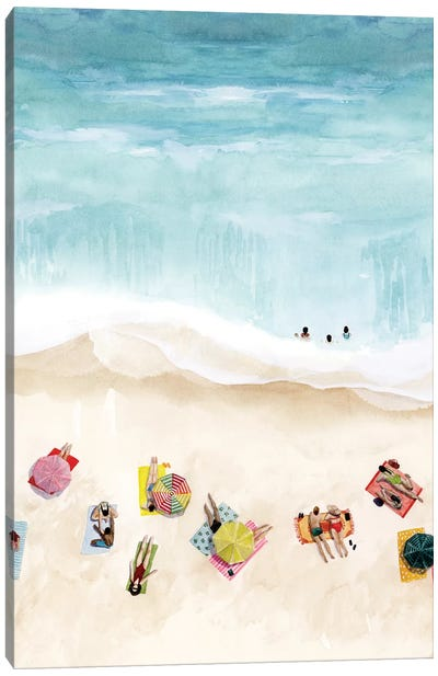 Beach Week II Canvas Art Print