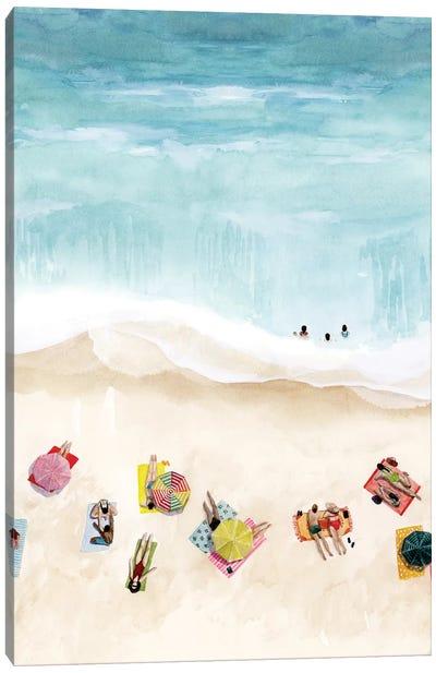Beach Week II Canvas Art Print