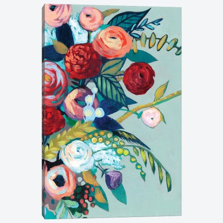 Lyrical Array I Canvas Print #POP145} by Grace Popp Canvas Art