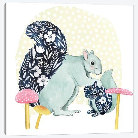 Flower Children III Canvas Print #POP1461} by Grace Popp Canvas Art Print