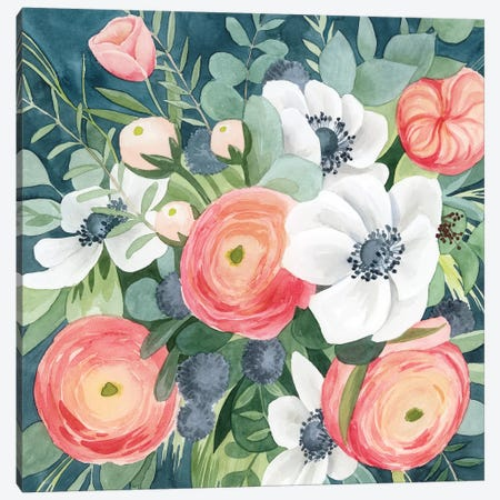 Bewitching Bouquet I 3-Piece Canvas #POP1468} by Grace Popp Canvas Art Print