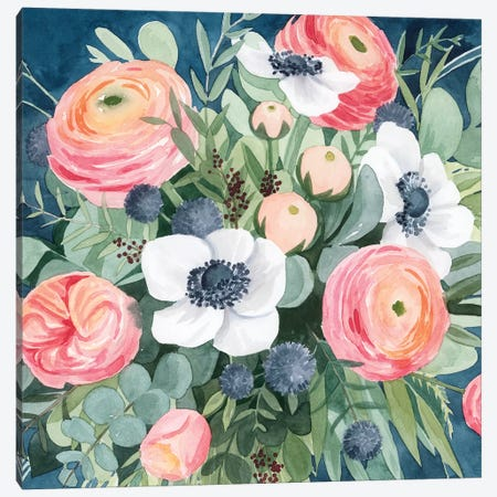 Bewitching Bouquet II Canvas Print #POP1469} by Grace Popp Canvas Art Print