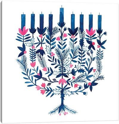 Boho Hanukkah I Canvas Art Print