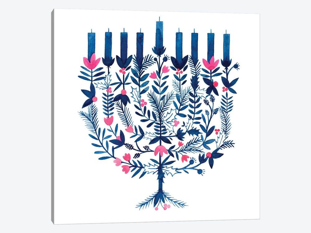 Boho Hanukkah I by Grace Popp 1-piece Canvas Art Print