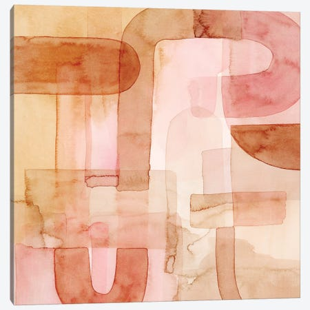 Build Up I Canvas Print #POP1478} by Grace Popp Canvas Artwork
