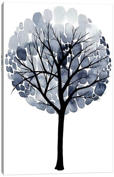 Midnight Elm I Canvas Art Print