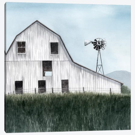 Bygone Barn I 3-Piece Canvas #POP1482} by Grace Popp Art Print
