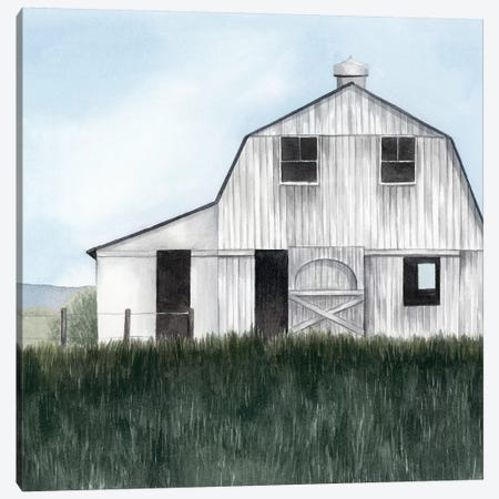 Bygone Barn II Canvas Print #POP1483} by Grace Popp Art Print