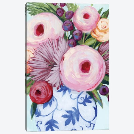 Clarity Blooms I Canvas Print #POP1486} by Grace Popp Canvas Artwork