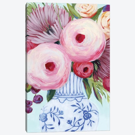 Clarity Blooms II Canvas Print #POP1487} by Grace Popp Canvas Artwork