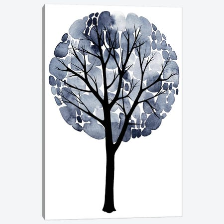 Midnight Elm II Canvas Print #POP148} by Grace Popp Canvas Art Print