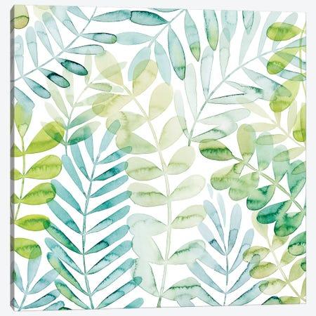 Dancing Palms I Canvas Print #POP1490} by Grace Popp Canvas Artwork