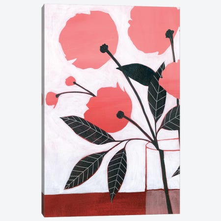 Flower Screen I Canvas Print #POP1498} by Grace Popp Canvas Artwork