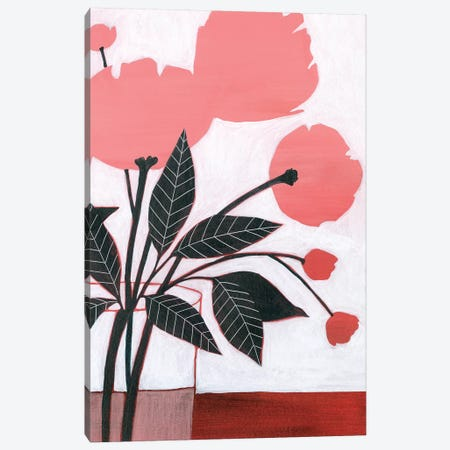 Flower Screen II Canvas Print #POP1499} by Grace Popp Canvas Artwork