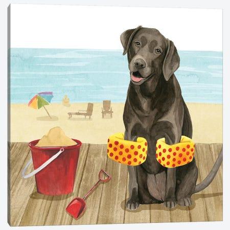 Let's Go for a Boardwalk II Canvas Print #POP1509} by Grace Popp Canvas Art