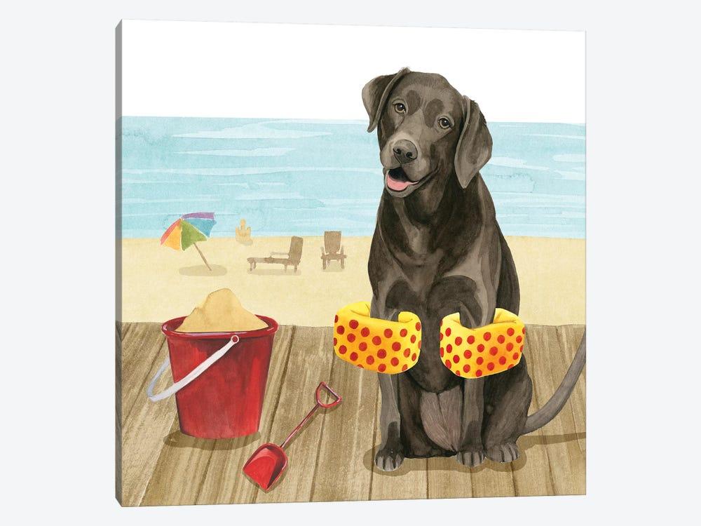 Let's Go for a Boardwalk II by Grace Popp 1-piece Canvas Artwork