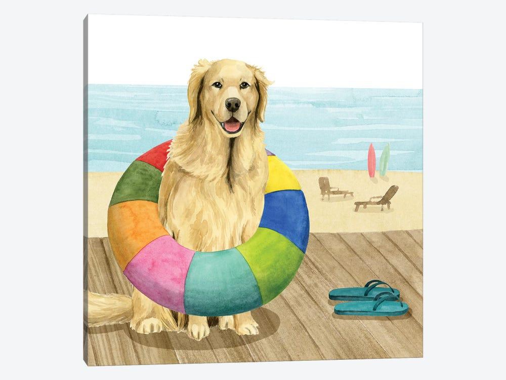 Let's Go for a Boardwalk III by Grace Popp 1-piece Canvas Art
