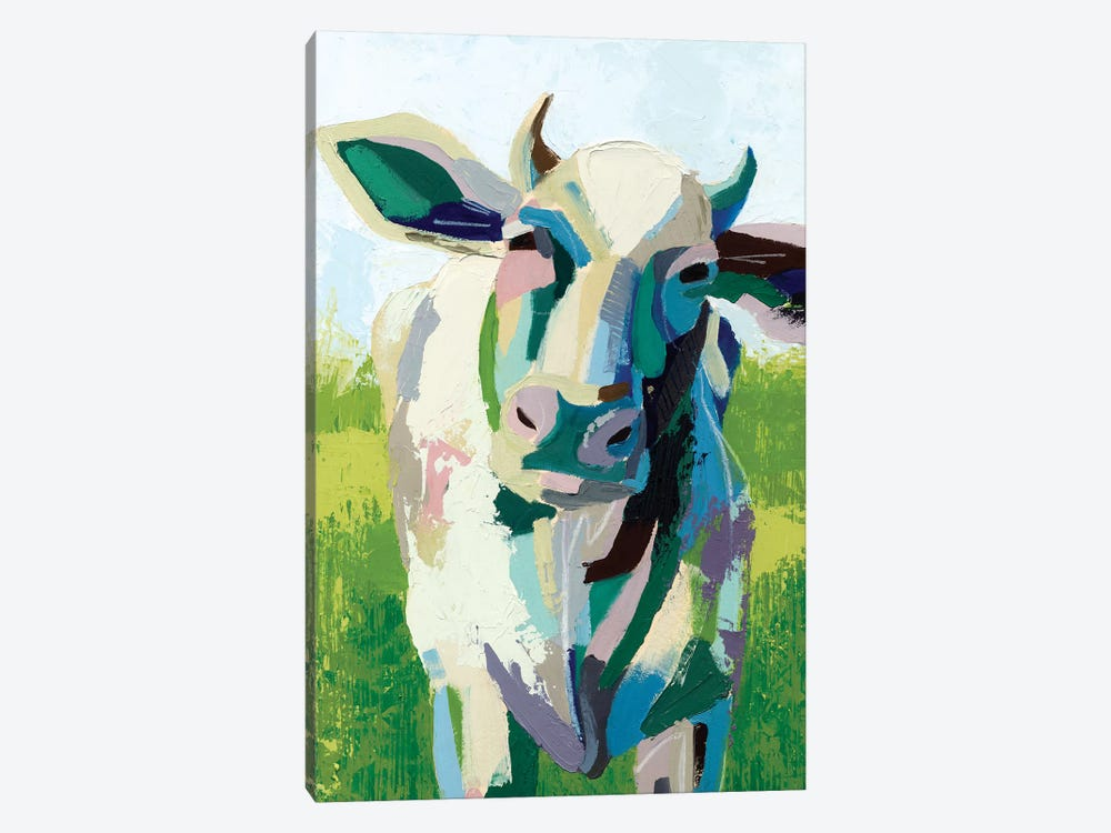 Painterly Cow II by Grace Popp 1-piece Art Print