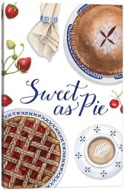 Sweet As Pie I Canvas Art Print