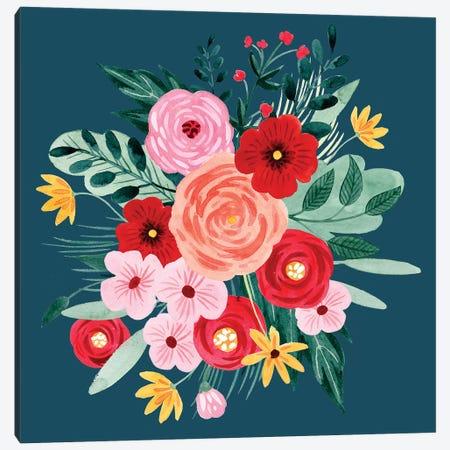 Sweet Hearts Bouquet II Canvas Print #POP1542} by Grace Popp Canvas Art