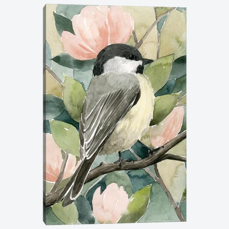 Veiled Aviary I Canvas Print #POP1547} by Grace Popp Art Print
