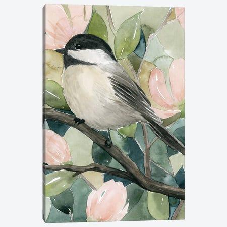 Veiled Aviary II Canvas Print #POP1548} by Grace Popp Canvas Wall Art