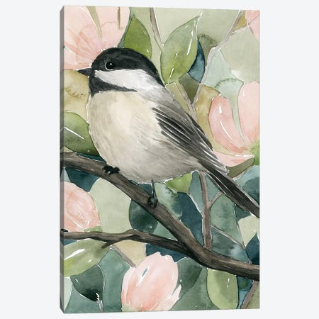 Veiled Aviary II Canvas Print #POP1548} by Grace Popp Canvas Wall Art
