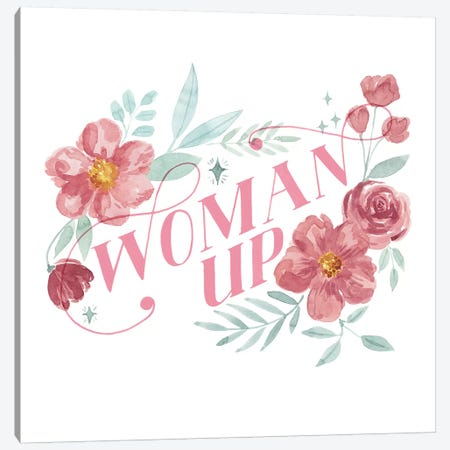 Woman Up I Canvas Print #POP1565} by Grace Popp Canvas Print