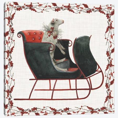 A Farmer's Christmas Collection A Canvas Print #POP1572} by Grace Popp Art Print
