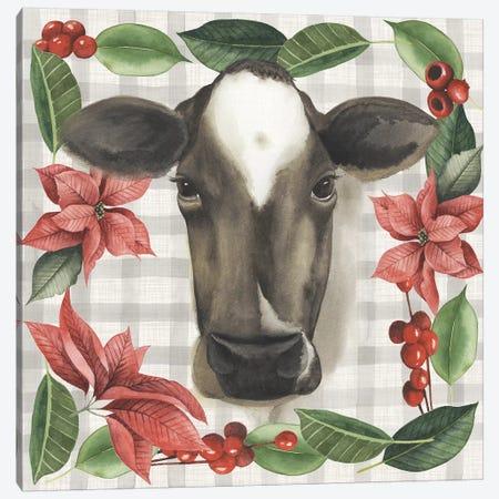 A Farmer's Christmas Collection E Canvas Print #POP1575} by Grace Popp Canvas Artwork