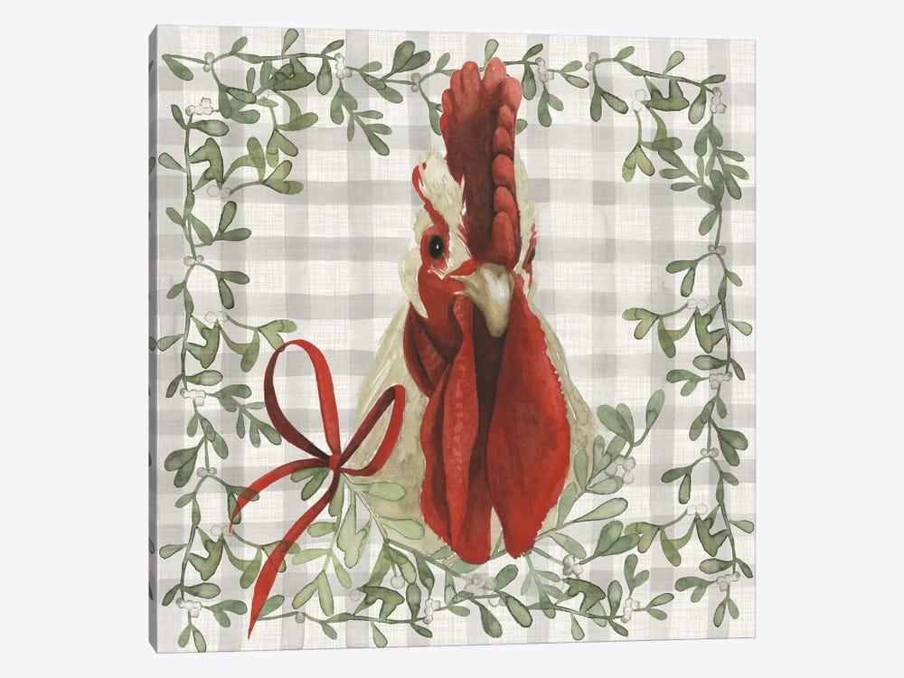 A Farmer's Christmas Collection F by Grace Popp 1-piece Canvas Artwork