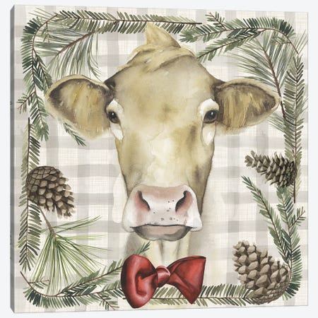 A Farmer's Christmas Collection G Canvas Print #POP1577} by Grace Popp Canvas Wall Art