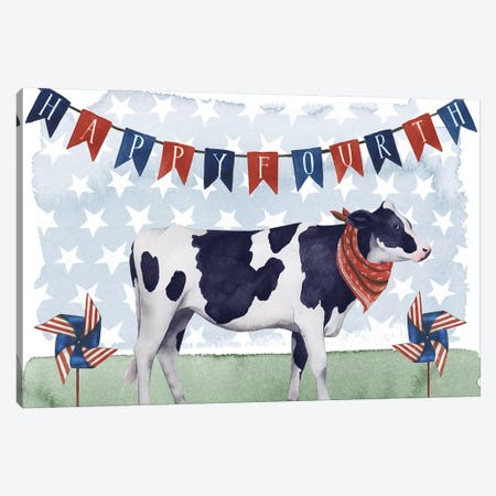 American Herd Collection A Canvas Print #POP1581} by Grace Popp Canvas Art