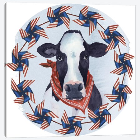 American Herd Collection C Canvas Print #POP1583} by Grace Popp Canvas Wall Art