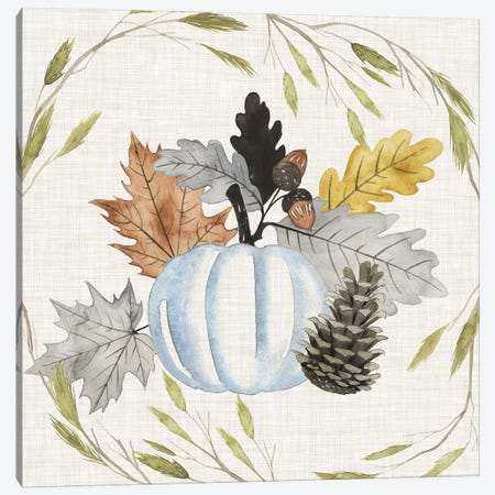 Autumn Animals Collection A Canvas Print #POP1594} by Grace Popp Canvas Wall Art
