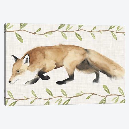 Autumn Animals Collection C Canvas Print #POP1595} by Grace Popp Canvas Artwork