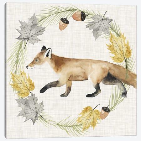 Autumn Animals Collection G Canvas Print #POP1598} by Grace Popp Canvas Print
