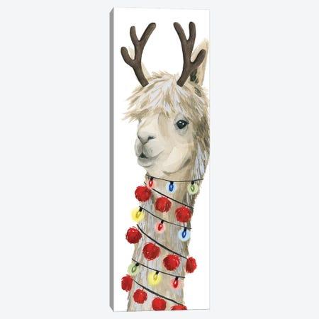 Boho Christmas Collection B Canvas Print #POP1605} by Grace Popp Canvas Wall Art