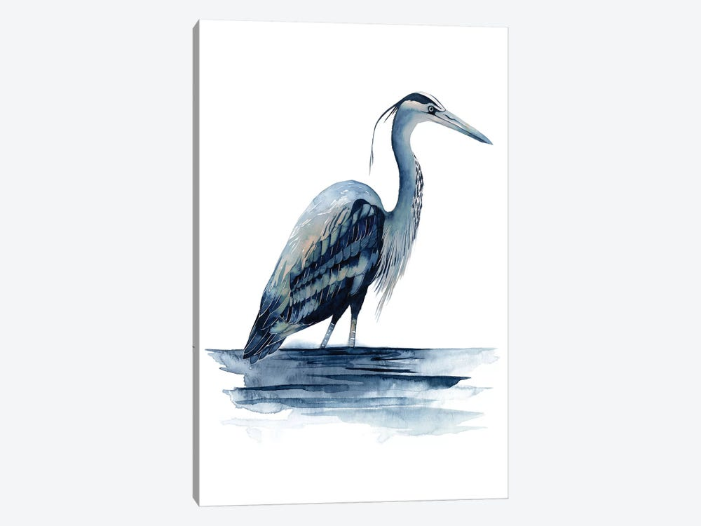 Azure Heron II by Grace Popp 1-piece Art Print