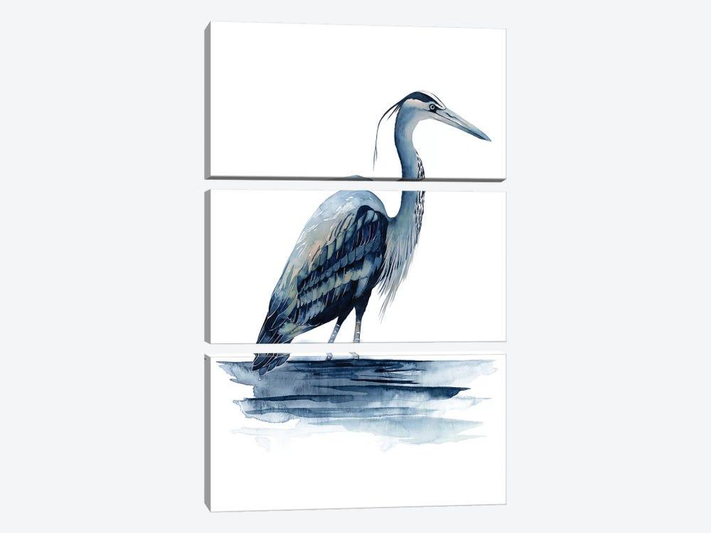 Azure Heron II by Grace Popp 3-piece Art Print