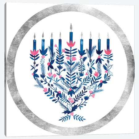Boho Hanukkah Collection C Canvas Print #POP1612} by Grace Popp Canvas Artwork