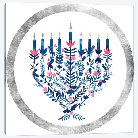 Boho Hanukkah Collection C Canvas Print #POP1612} by Grace Popp Canvas Artwork